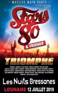 AFFICHES STARS 80 Les Nuits Bressanes 2019 2