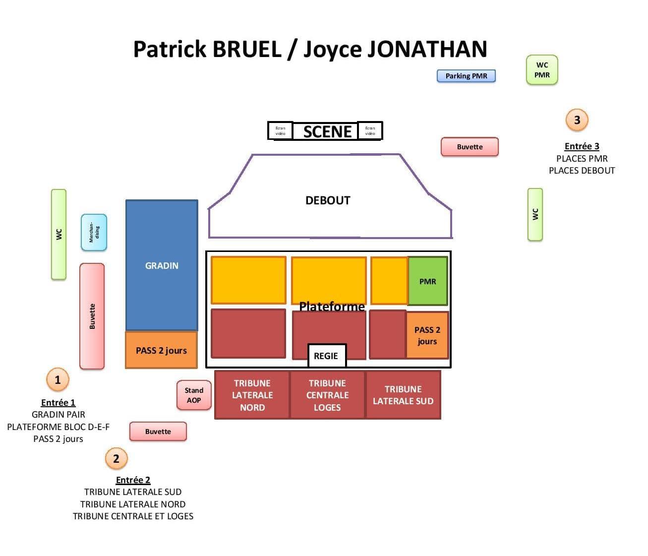 Plan concert P.Bruel